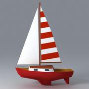 Żaglówka 3d model