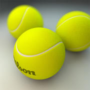 Pelota de tenis modelo 3d