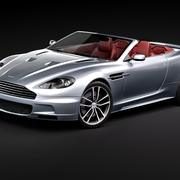 Aston Martin DBS Volante Cabrio 2010 3d model