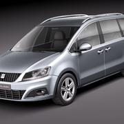 Seat Alhambra 2011 3d model