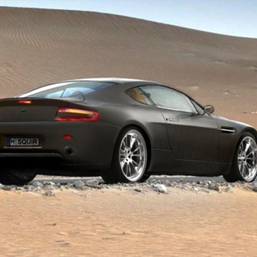 Aston Martin v8 royalty-free 3d model - Preview no. 1