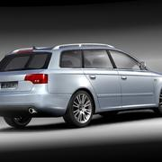 Audi A4 2005 Avant 3d model