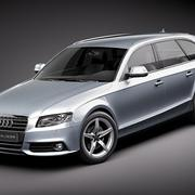 Audi A4 Avant 2010 3d model