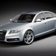 Audi A6 Sedan 2009 3d model