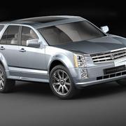 Cadillac SRX 3d model