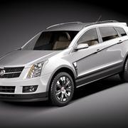 Cadillac SRX 2010 3d model