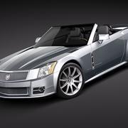 Cadillac XLR-V 3d model