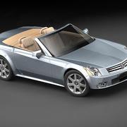 Cadillac XLR 3d model