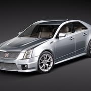 Cadillac CTS-V 2010 3d model