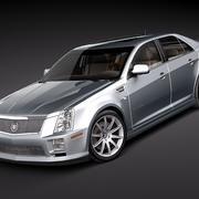 Cadillac STS-V 3d model