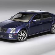 Cadillac STS 3d model