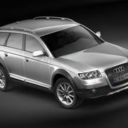 Audi Allroad 2007 3d model