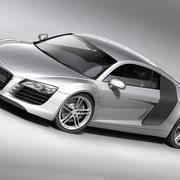 Audi R8 2008 3d model