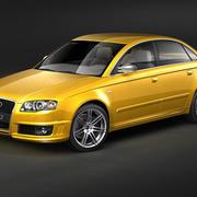 Audi RS4 Sedan 2007 3d model