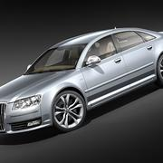 Audi S8 2009 3d model