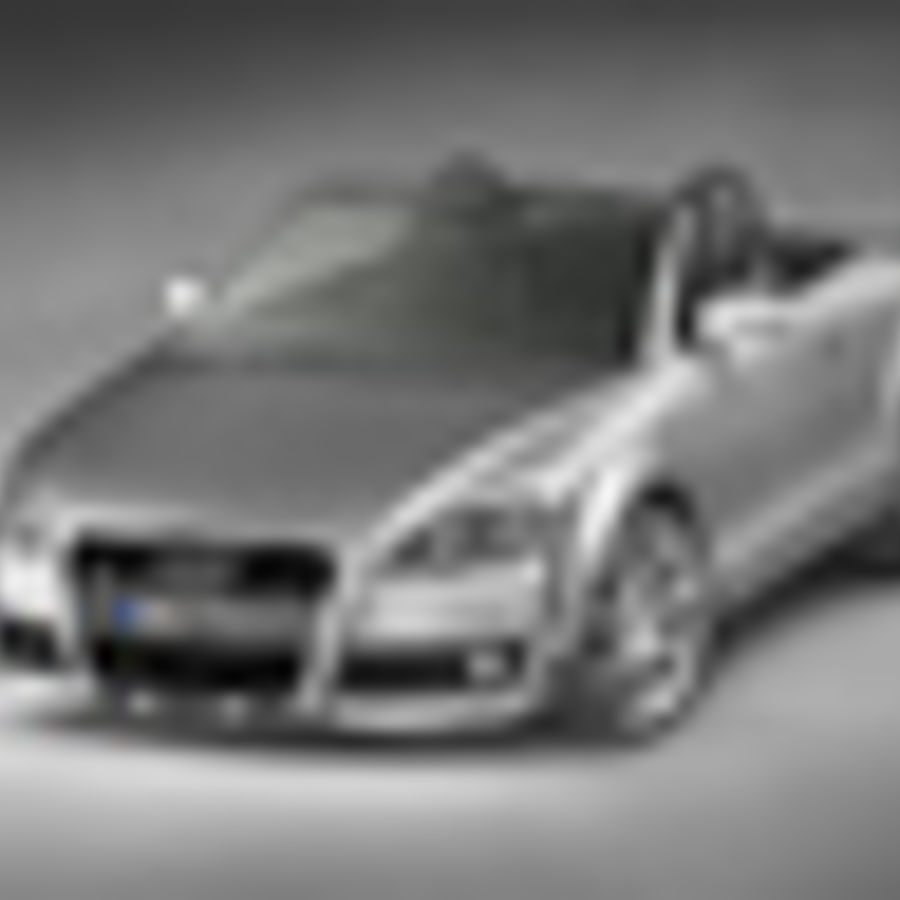 Audi TT Roadster 2007 royalty-free 3d model - Preview no. 4