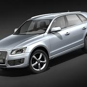 Audi Q5 2009 midpoly 3d model