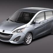 Mazda 5 2011-2013 3d model