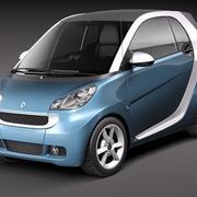 Smart 42 fortwo 2011 3d model