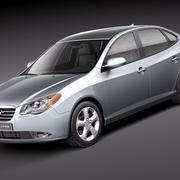 Hyundai Elantra 2010 3d model