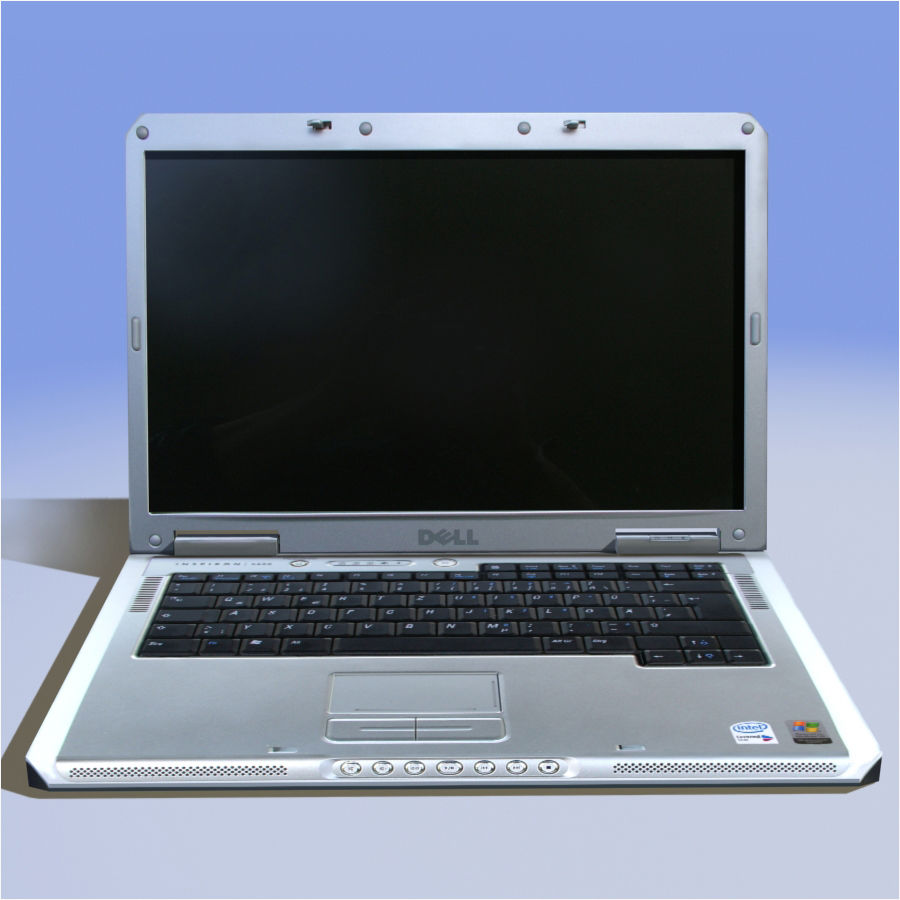 Dell Notebook royalty-free 3d model - Preview no. 15
