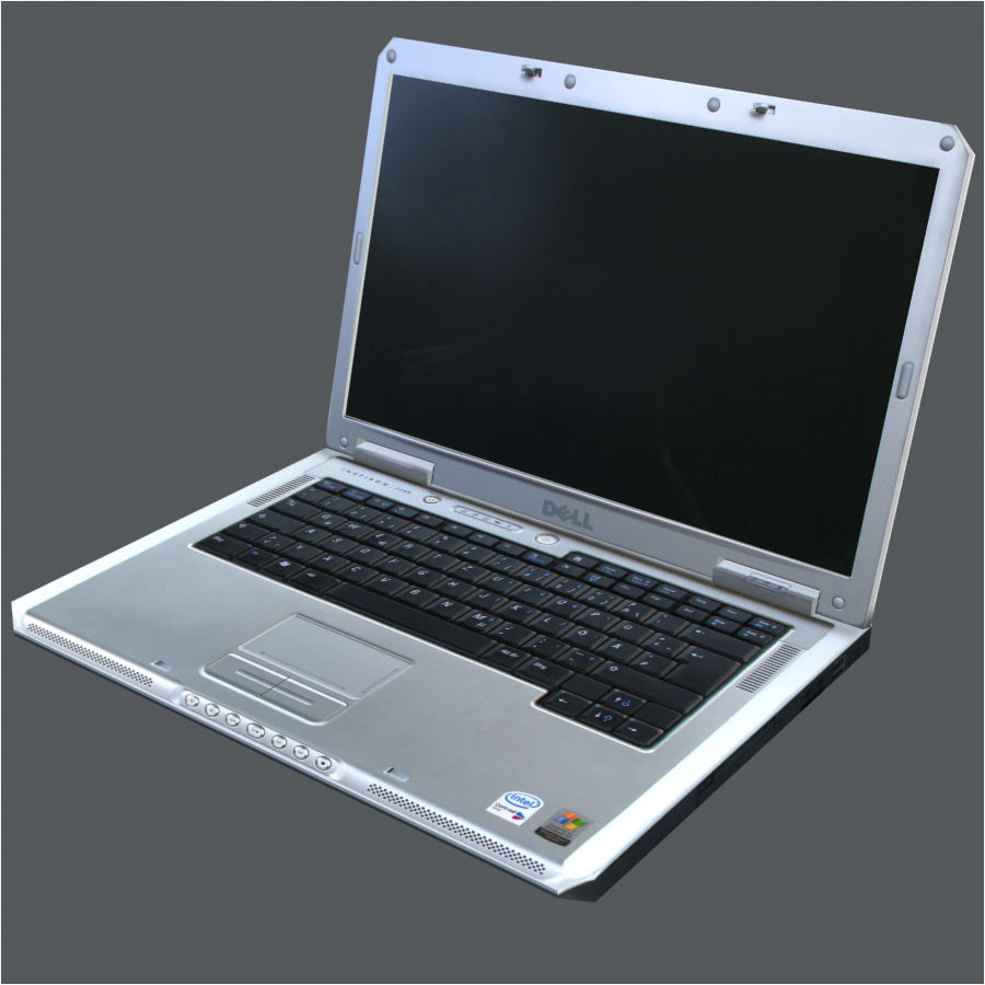Dell Notebook royalty-free 3d model - Preview no. 17