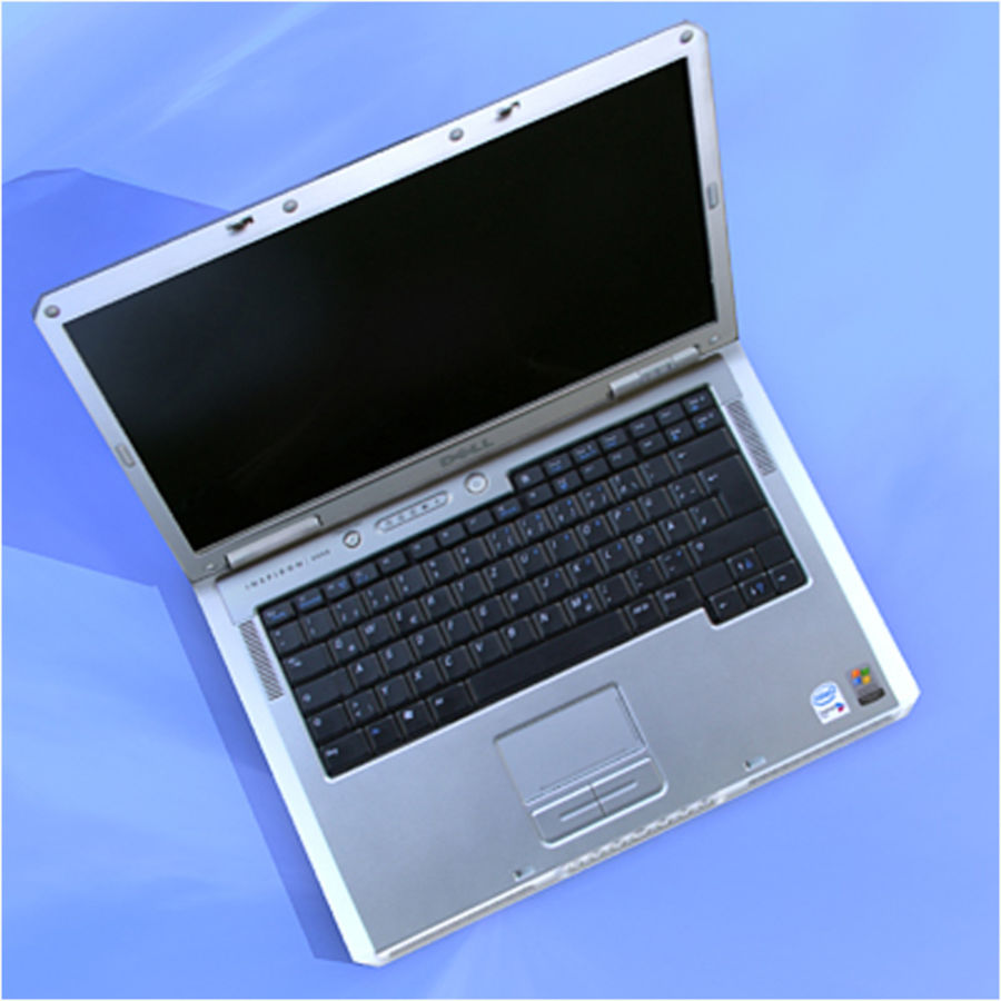 Dell Notebook royalty-free 3d model - Preview no. 5
