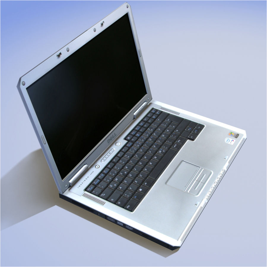 Dell Notebook royalty-free 3d model - Preview no. 14