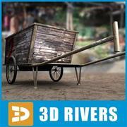 Chariot chinois par 3DRivers 3d model