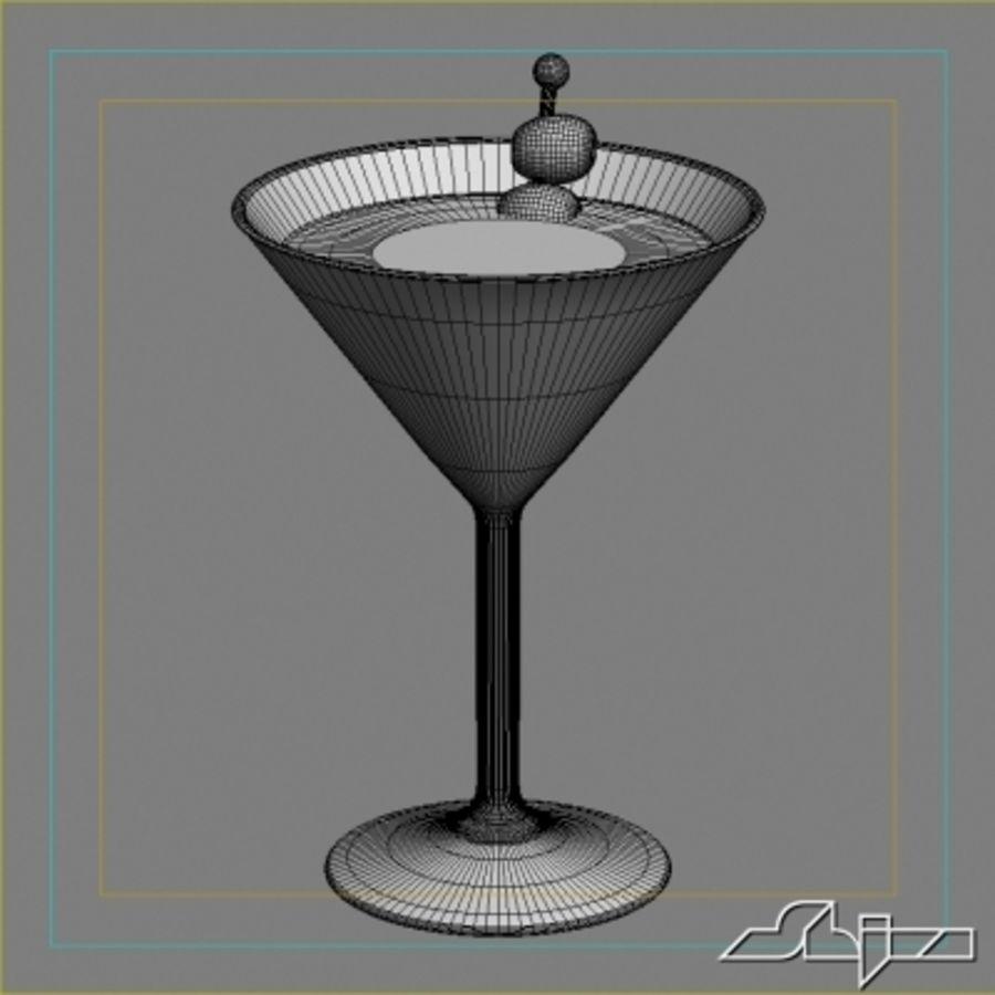 마티니 royalty-free 3d model - Preview no. 4