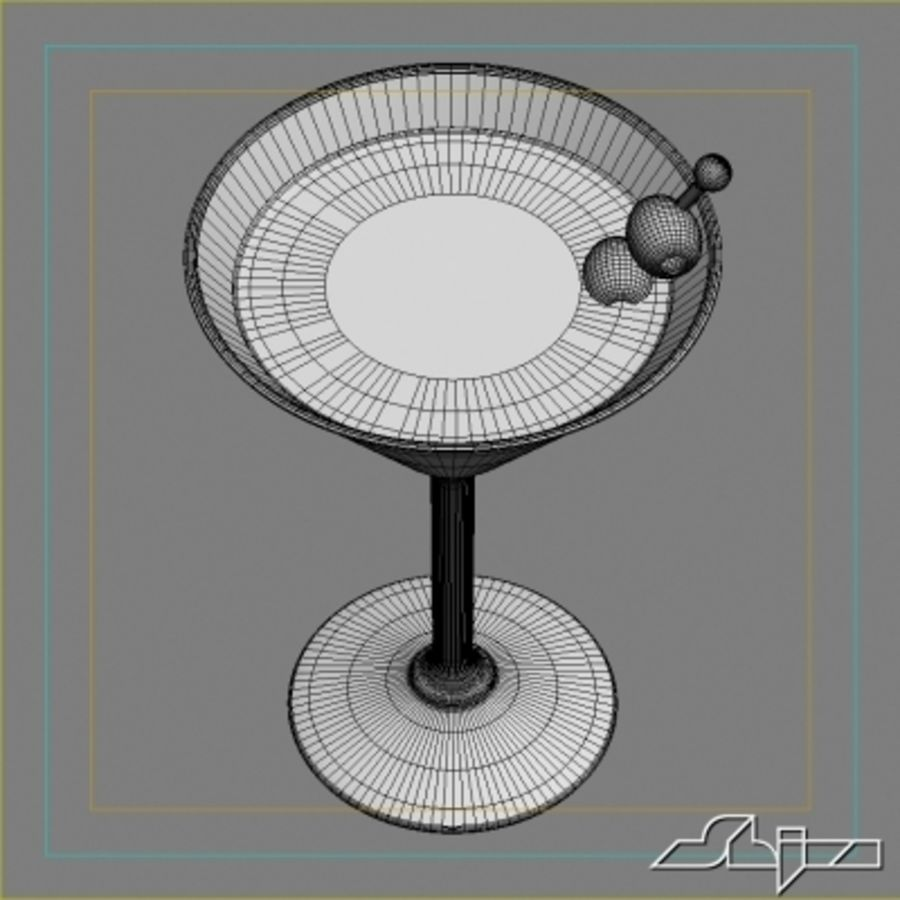 마티니 royalty-free 3d model - Preview no. 5