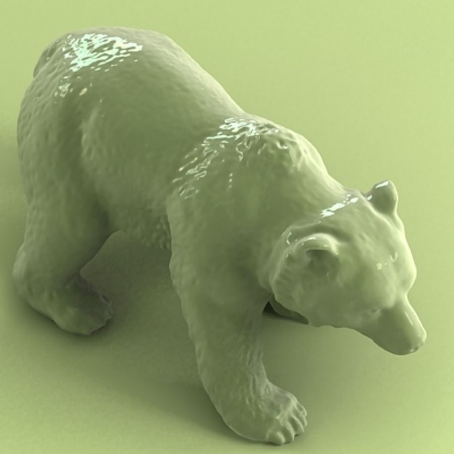 3D Bear royalty-free 3d model - Preview no. 4