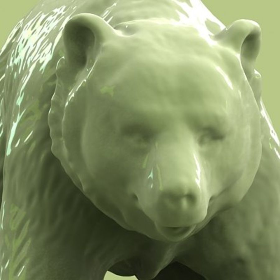 3D Bear royalty-free 3d model - Preview no. 7