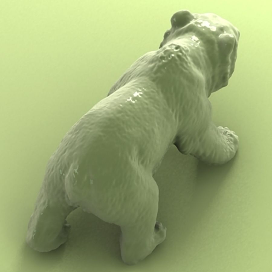 3D Bear royalty-free 3d model - Preview no. 6