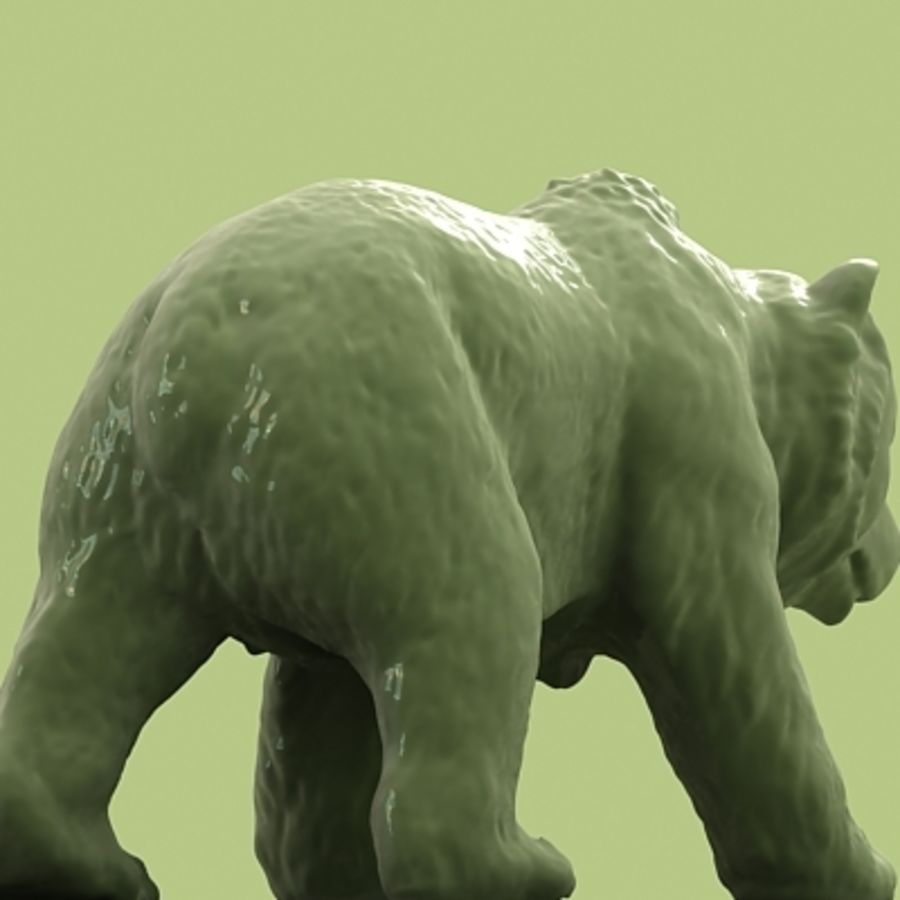 3D Bear royalty-free 3d model - Preview no. 5