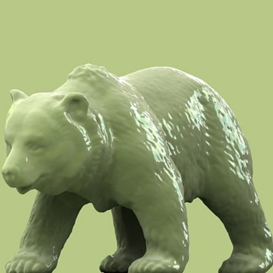 3D Bear royalty-free 3d model - Preview no. 3