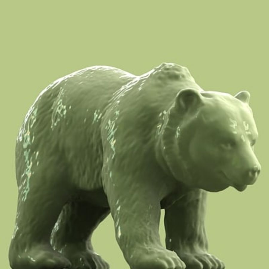 3D Bear royalty-free 3d model - Preview no. 1