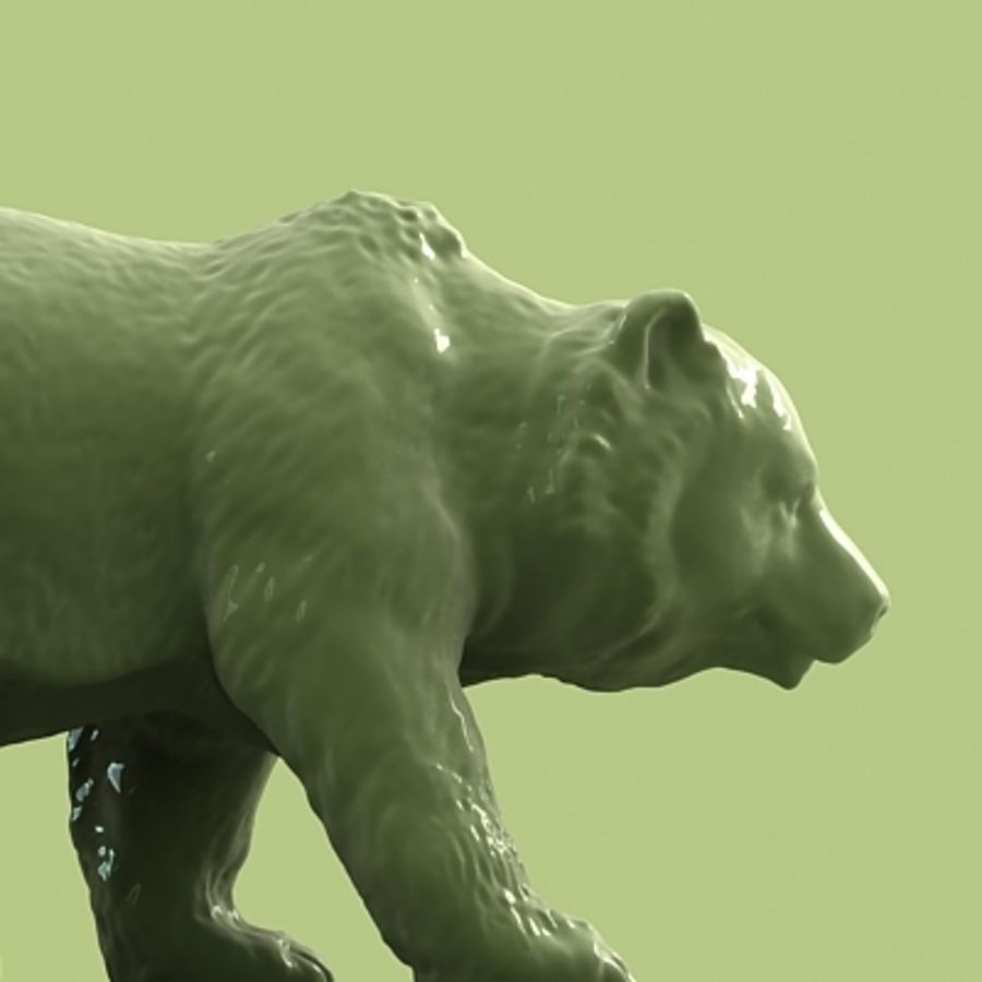 3D Bear royalty-free 3d model - Preview no. 2