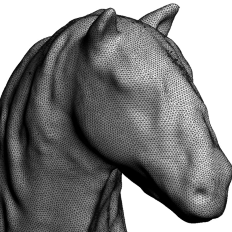 3D Stallion royalty-free 3d model - Preview no. 7