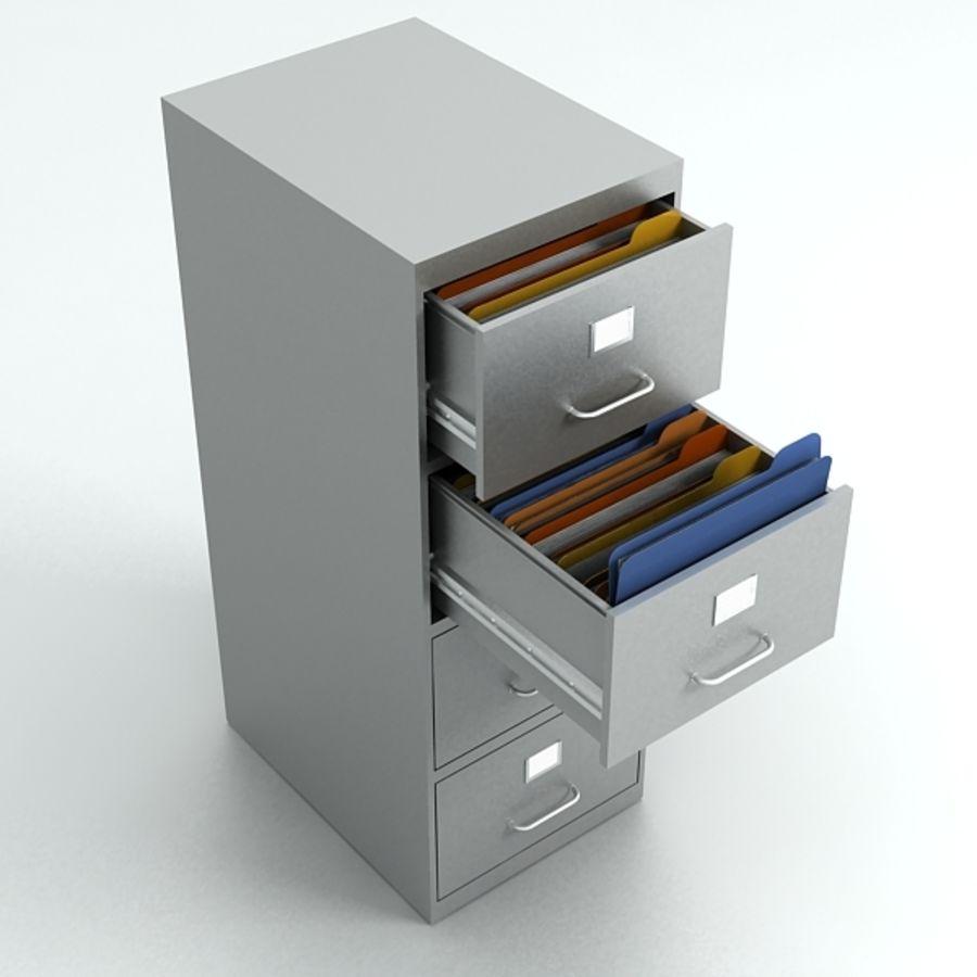 3d filing cabinet 3D Model $45 -  obj  max  dxf  3ds - Free3D