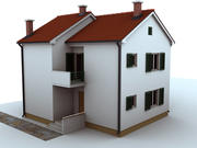 집 105 ㎡ 3d model