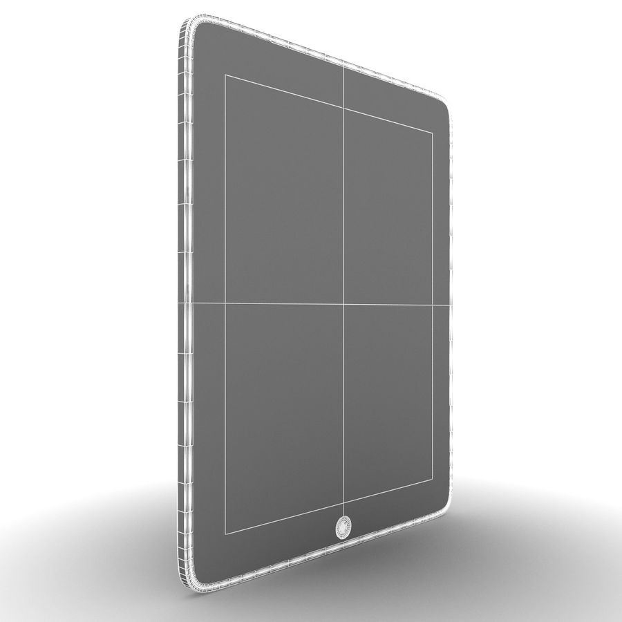 Apple iPad royalty-free 3d model - Preview no. 8