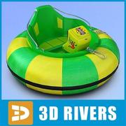 One-seat bumper boat by 3DRivers 3d model