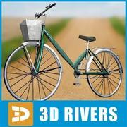 Китайский велосипед 3d model
