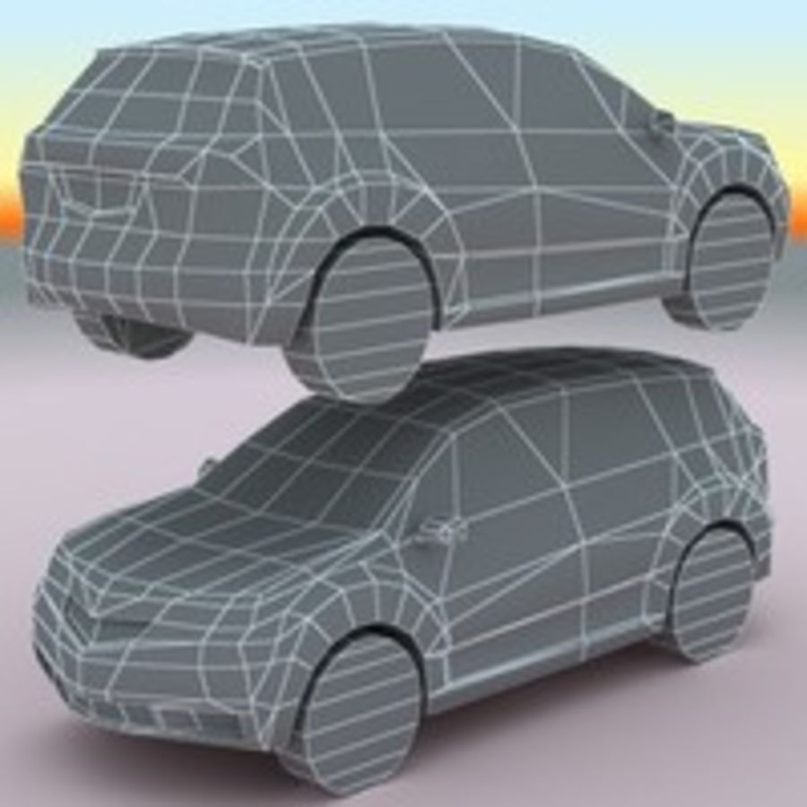 2010 Acura MDX royalty-free 3d model - Preview no. 9