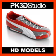 Puma sko 3d model