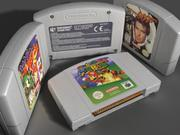 Nintendo 64 Cartridge 3d model