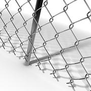 Chainlink Fence Modules 3d model