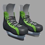 Skates 3d model