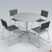 Table set029.ZIP 3d model